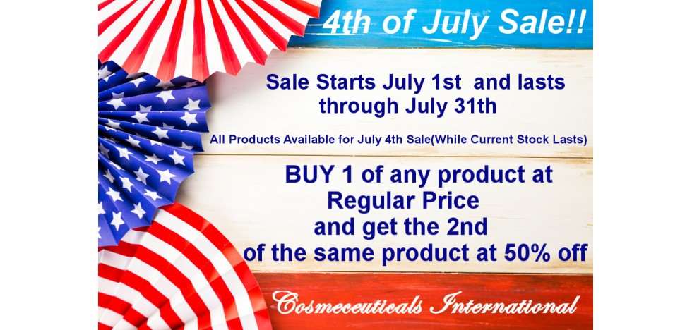 2019 4th of July Sale